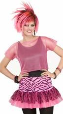 Neon Pink Mesh Costume Top