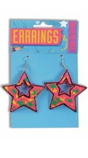 80's Star Earrings