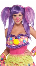 Circus Sweetberry Bubbles Wig
