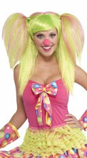 Sweet Lollipop Clown Wig