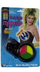 Black Light Tri-Colored Make Up Pack