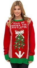 Under the Mistletoe Sweater