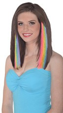 Pastel Rainbow Hair Extensions