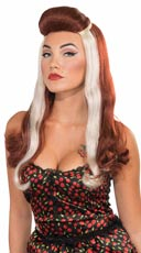 Auburn and Blonde Dixie Wig