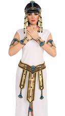 Gold Egyptian Wrist Cuffs