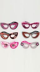 Cat-Eye Bachelorette Novelty Masks