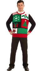 Plus Size Jolly Holiday Ugly Christmas Sweater