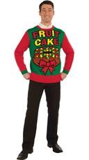 Plus Size Fruit Cake Ugly Sweater