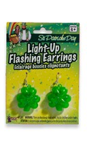 Flashing Shamrock Earrings