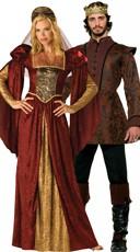 Renaissance Royalty Couples Costume