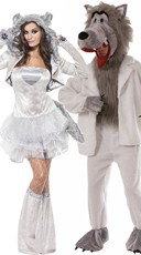 Clever Wolves Couples Costume