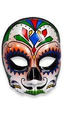 Day of the Dead El Senor Face Mask