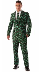 Men's Shamrock Suit Costume