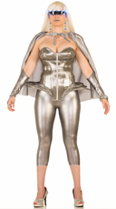 Molten Metal Silver Costume
