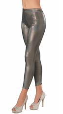 Futuristic Silver Leggings