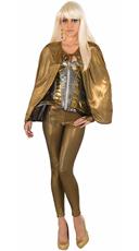 Molten Metal Golden Fantasy Costume