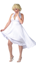 Plus Size Screen Goddess Costume