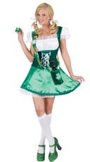 Shot Glass St Patty Lassie Costume