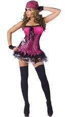 Pretty Pink Pirate Costume