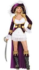 Deluxe Caribbean Pirate Costume