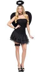 Black Fallen Angel Costume