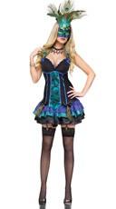 Midnight Peacock Costume