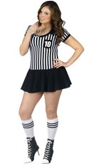 Plus Size Adult Referee Costume