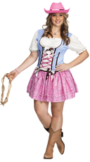 Plus Size Rodeo Sweetie Costume