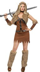 Sexy Viking Warrior Costume
