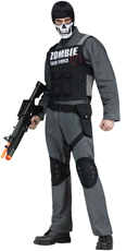 Men's Zombie Task Force Costume