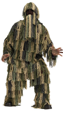 Man's Ghillie Suit Costume