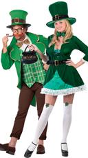 Lucky Leprechaun Couples Costume