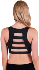 Wide Ladder Back Microfiber Sports Bra