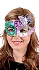 Farfallina Mardi Gras Mask