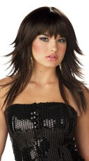 Feathered & Flirty Wig