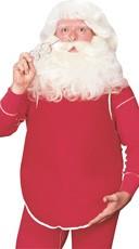 Realistic Santa Belly
