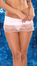 Fishnet Fetish Mini Skirt