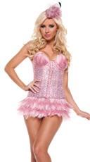 Deluxe Pink Flamingo Costume