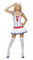 Flirty First Mate Costume