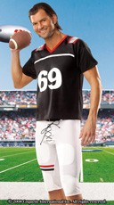 Men's Football Player Costume