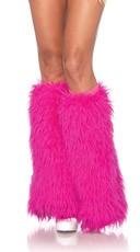 Knee High Furry Leg Warmers