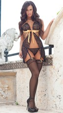 Sparkling Nights Babydoll Set