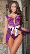 Parisian Love Babydoll Set