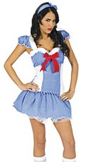 Gingham Girl Costume