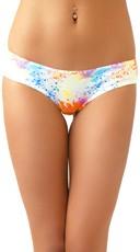 Pineapple Scented Paint Splash Bikini Panty