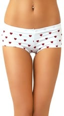 Cherry Scented Heartbreaker Cotton Boyshorts