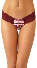 Love Scented Heart Attack Lace Thong