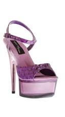 Amber Heart Platform Shoe