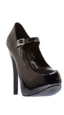 Kiss Me Mary Jane Stiletto Platform Pump