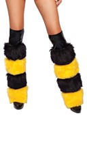 Honey Bee Leg Warmers